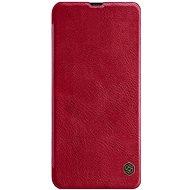 Nillkin Qin Book tok Samsung Galaxy A30 készülékhez, piros - Mobiltelefon tok