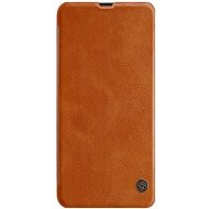 Nillkin Qin Book tok Samsung Galaxy A30 készülékhez, barna - Mobiltelefon tok