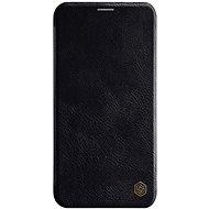 Nillkin Qin Book tok Apple iPhone 11 Pro Max készülékhez, fekete - Mobiltelefon tok
