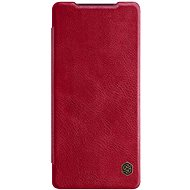Nillkin Qin bőr tok Samsung Galaxy Note 20 készülékhez piros - Mobiltelefon tok