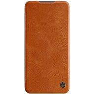 Nillkin Qin bőr mobiltelefon tok Xiaomi Redmi Note 8 Pro Brown készülékekhez