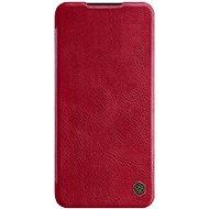 Nillkin Qin bőr mobiltelefon tok Xiaomi Redmi Note 8 Pro Red készülékekhez