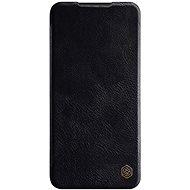 Mobiltelefon tok Nillkin Qin bőr tok Xiaomi Redmi Note 8 Pro Black készülékekhez - Pouzdro na mobil