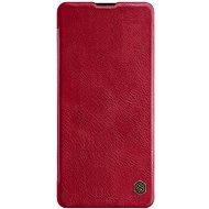 Nillkin Qin tok Samsung Galaxy Note 10 Lite készülékhez, piros