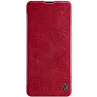 Mobiltelefon tok Nillkin Qin tok Samsung Galaxy A51 készülékhez, piros - Pouzdro na mobil