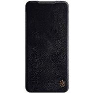 Mobiltelefon tok Nillkin Qin bőrtok Xiaomi Redmi Note 9 Pro/Note 9S készülékhez - fekete - Pouzdro na mobil