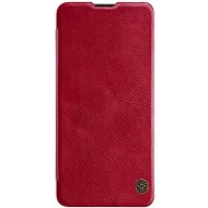 Mobiltelefon tok Nillkin Qin bőrtok Samsung Galaxy A41 készülékhez - piros - Pouzdro na mobil