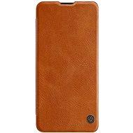 Mobiltelefon tok Nillkin Qin bőrtok Samsung Galaxy A41 készülékhez - barna - Pouzdro na mobil