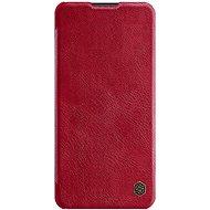 Nillkin Qin bőrtok Samsung Galaxy A21 készülékhez - piros - Mobiltelefon tok