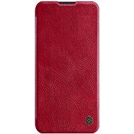 Nillkin Qin bőrtok Samsung Galaxy A11 készülékhez - piros