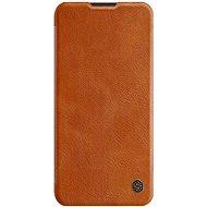 Nillkin Qin bőrtok Samsung Galaxy A11 készülékhez - barna