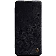 Mobiltelefon tok Nillkin Qin bőrtok Huawei P40 Lite készülékhez - fekete - Pouzdro na mobil