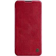 Nillkin Qin bőrtok Huawei P40 Lite készülékhez - piros - Mobiltelefon tok
