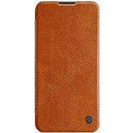 Mobiltelefon tok Nillkin Qin bőrtok Huawei P40 Lite készülékhez - barna - Pouzdro na mobil