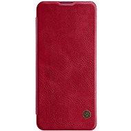 Mobiltelefon tok Nillkin Qin bőrtok Xiaomi Mi 10/10 Pro készülékhez - piros - Pouzdro na mobil