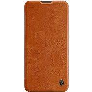 Nillkin Qin tok Huawei P40 készülékhez - barna - Mobiltelefon tok