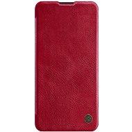 Nillkin Qin bőrtok Huawei P40 Pro készülékhez - piros - Mobiltelefon tok