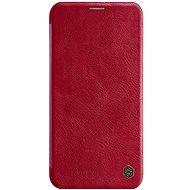 Nillkin Qin Book tok Apple iPhone 11 Pro készülékhez, piros - Mobiltelefon tok