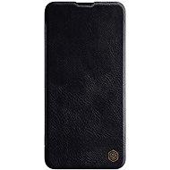 Nillkin Qin bőr tok Samsung Galaxy A20s készülékhez fekete