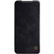 Mobiltelefon tok Nillkin Qin bőr tok Xiaomi Redmi Note 9 készülékhez barna - Pouzdro na mobil