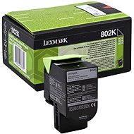 LEXMARK 80C20K0 fekete - Toner