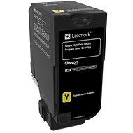 LEXMARK 74C2HY0 sárga - Toner