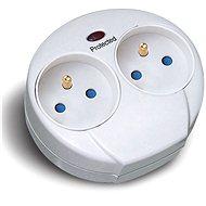Solight 576J fehér az aljzatba - Túlfeszültségvédő hosszabbító