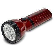 Solight tölthető LED-es zseblámpa piros-fekete - Elemlámpa