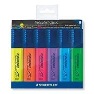 STAEDTLER Textsurfer Classic 364, 6 db - Szövegkiemelő
