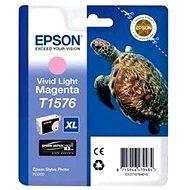 Tintapatron Epson T1576 világos magenta - Cartridge