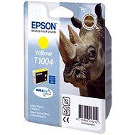 Tintapatron Epson T1004 sárga - Cartridge