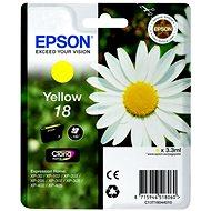 Epson T1804 sárga - Tintapatron