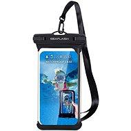 """Seaflash vízálló TPU tok legfeljebb 6,5""""-es okostelefonokhoz - fekete - Mobiltelefon tok"""