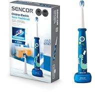 SENCOR SOC 0910BL - Elektromos fogkefe gyerekeknek