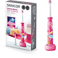 SENCOR SOC 0911RS - Gyerek elektromos fogkefe