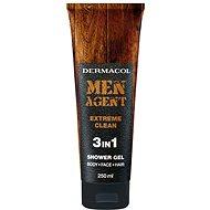 DERMACOL Men Agent Extreme Clean 3in1 Shower Gel 250 ml - Férfi tusfürdő