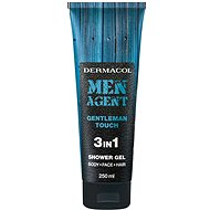 DERMACOL Men Agent Gentleman Touch 3in1 tusfürdő 250 ml