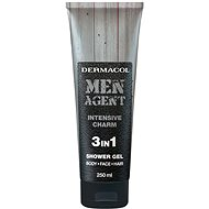 DERMACOL Men Agent Intensive Charm 3in1 Shower Gel 250 ml - Férfi tusfürdő