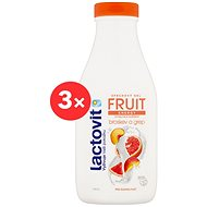 LACTOVIT Fruit Barack és grépfrút 2× 500 ml - Tusfürdő