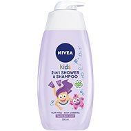 NIVEA Kids 2in1 Shower & Shampoo Girl 500 ml - Gyerek tusfürdő