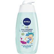 NIVEA Kids 2in1 Shower & Shampoo Boy 500 ml - Gyerek tusfürdő