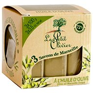 LE PETIT OLIVIER Marseille szappan - Olívaolaj 3×100 g - Szappan