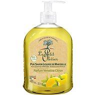LE PETIT OLIVIER Pure Liquid Soap of Marseille - Verbena Lemon Perfume 300 ml - Folyékony szappan