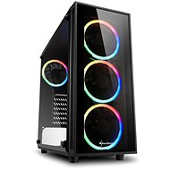 Sharkoon TG4 RGB - Számítógépház
