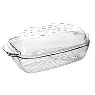 SIMAX szögletes sütőtál fedővel 3,2l - Sütőedény