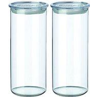 SIMAX Üvegedény készlet 2db 1,4l 5142/L áttetsző - Edény