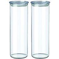 SIMAX Üvegdoboz készlet, 2db, 1,8,l, 5132/L, átlátszó - Ételtartó szett