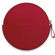 Egyszerű ember érzékelő, kompakt cipzáras tok, piros cipzáras tokkal az ST9004 zsebtükrökhöz - Tok