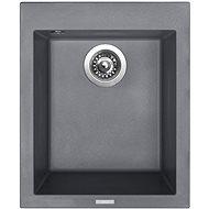 Sinks CUBE 410 Titanium - Gránit mosogató