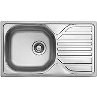 SINKS COMPACT 760 V 0.5 mm matt - Rozsdamentes acél mosogató